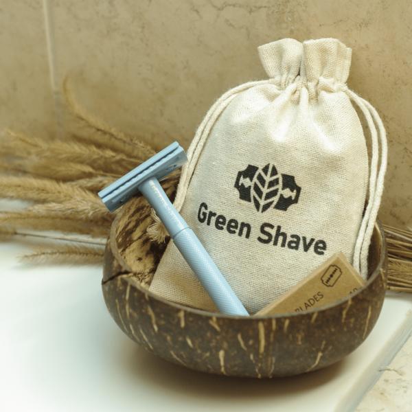 Green Shave Biztonsági borotva